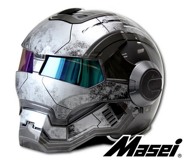 custom motorcycle helmet conversions how to make an iron. Black Bedroom Furniture Sets. Home Design Ideas