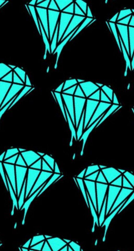 Pin By Sara Siney On Diamond Wallpapers Diamond Supply Co Wallpaper Diamond Wallpaper Iphone Skateboard Art Design
