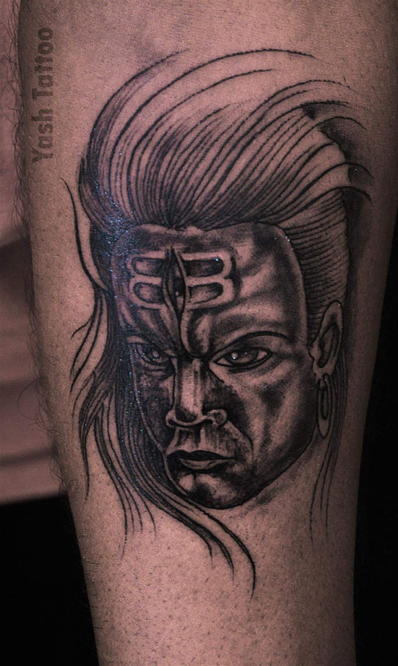 lord shiva anger face yash tattoo pinterest lord shiva and tattoo. Black Bedroom Furniture Sets. Home Design Ideas