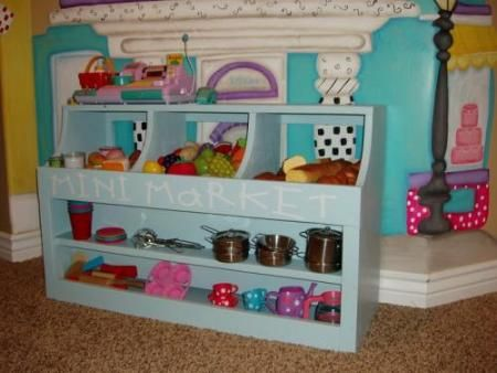 Would love to build this for Hailey since she loves to play store.  Just need to find the time!