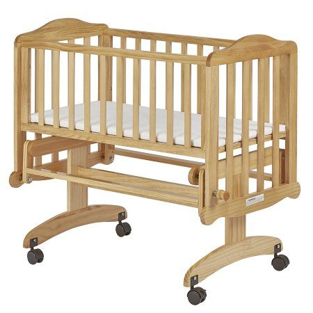 Dream On Me Lullaby Cradle Glider Natural Beige