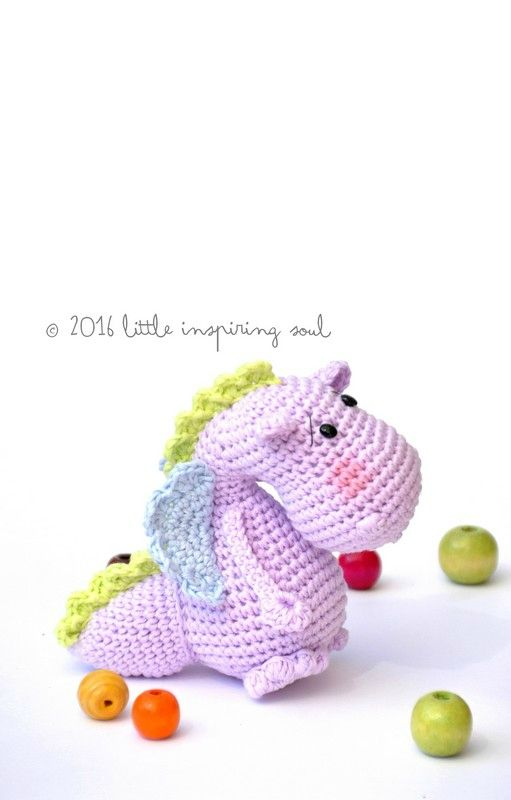 amigurumi dragon free pattern | amigurumi dragon and dinosaurs ...