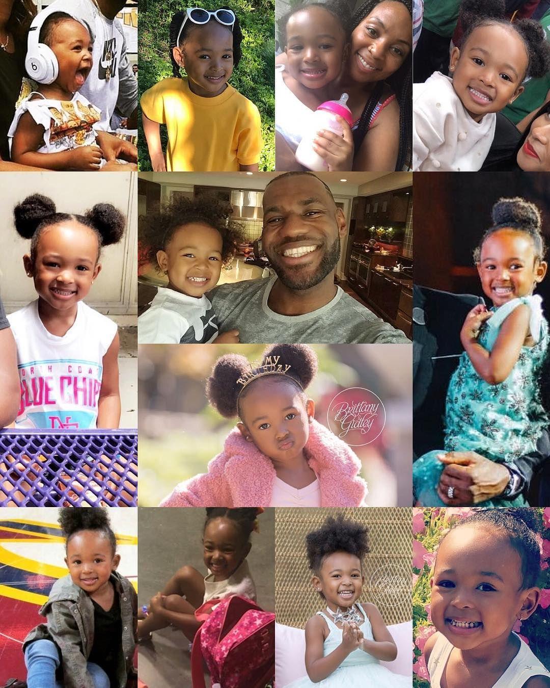 "Lebron James Baby Pic : lebron, james, Lebron, James, Family, Fanpage, Instagram:, ""Happy, Birthday, Zhuri, James!, 💕🎉, @kingjames, @mrs_savann…, Family,, James,, Happy"
