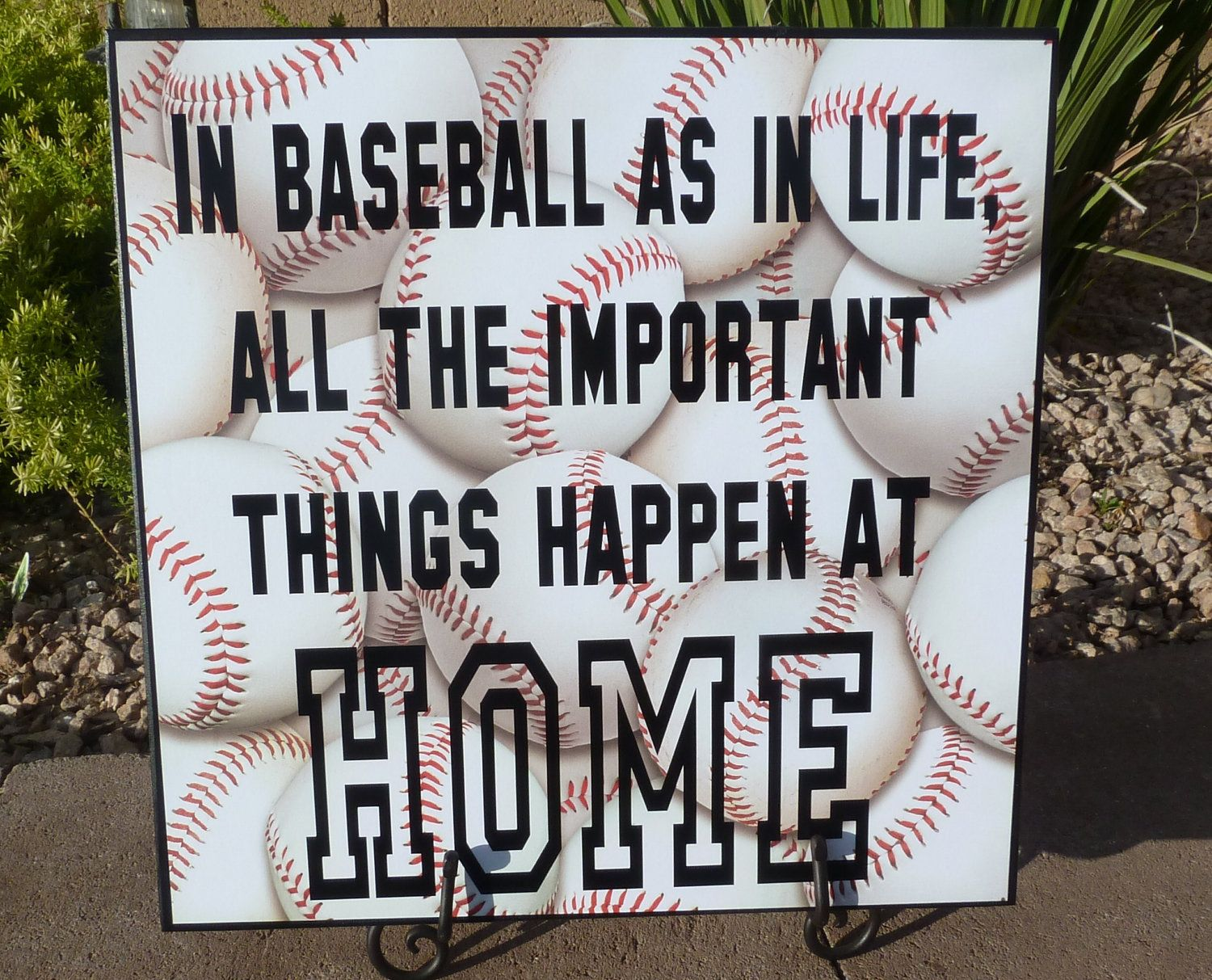 Baseball Quotes About Life Baseball Life Quote Home Signsassytalk On Etsy $25.00  These