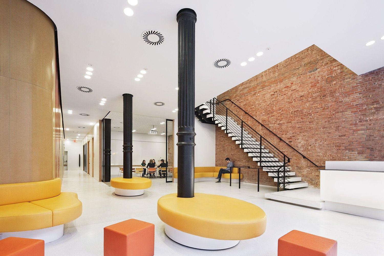New York University Department Of Linguistics Building 1100 Architect Materiality Interiors