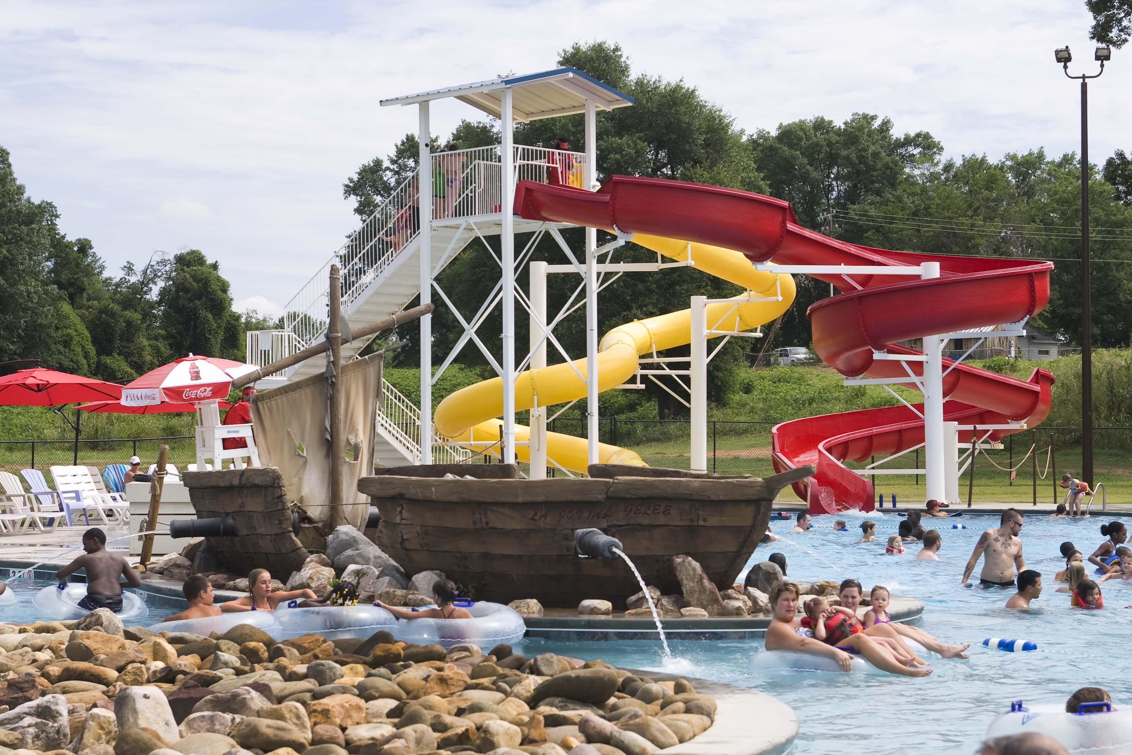 Cool Off At Shipwreck Cove Waterpark In Spartanburg Sc Get