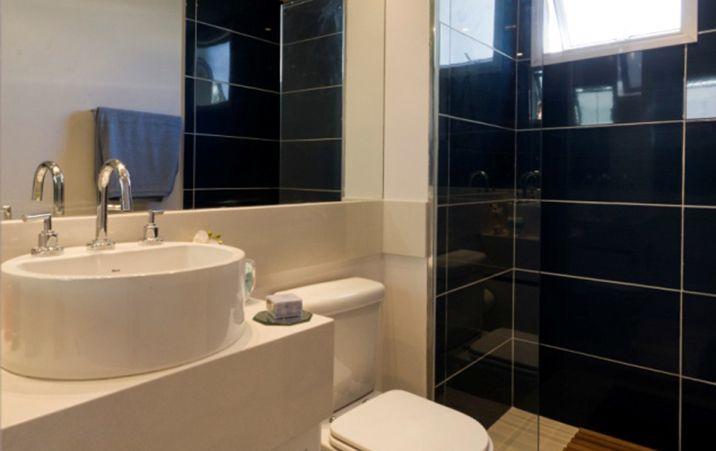 Decoração Do Banheiro Preto no Pinterest -> Decoracao Geek Banheiro