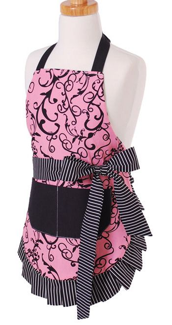 Girl's Apron Original Chic Pink