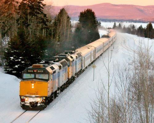 Best Train Journeys In North America The Ocean