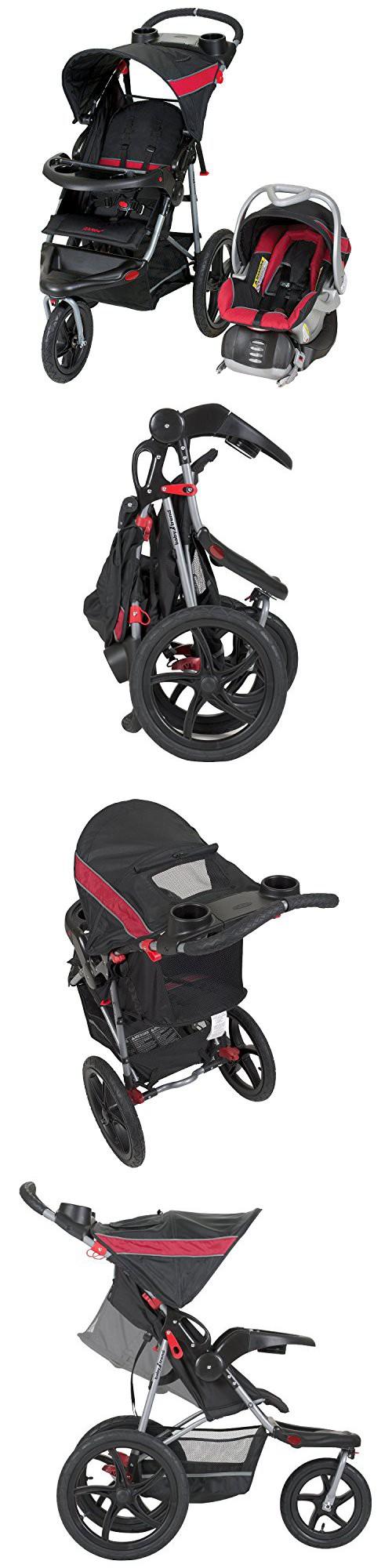 Baby Trend Range Travel System Folding Jogging Stroller Centennial