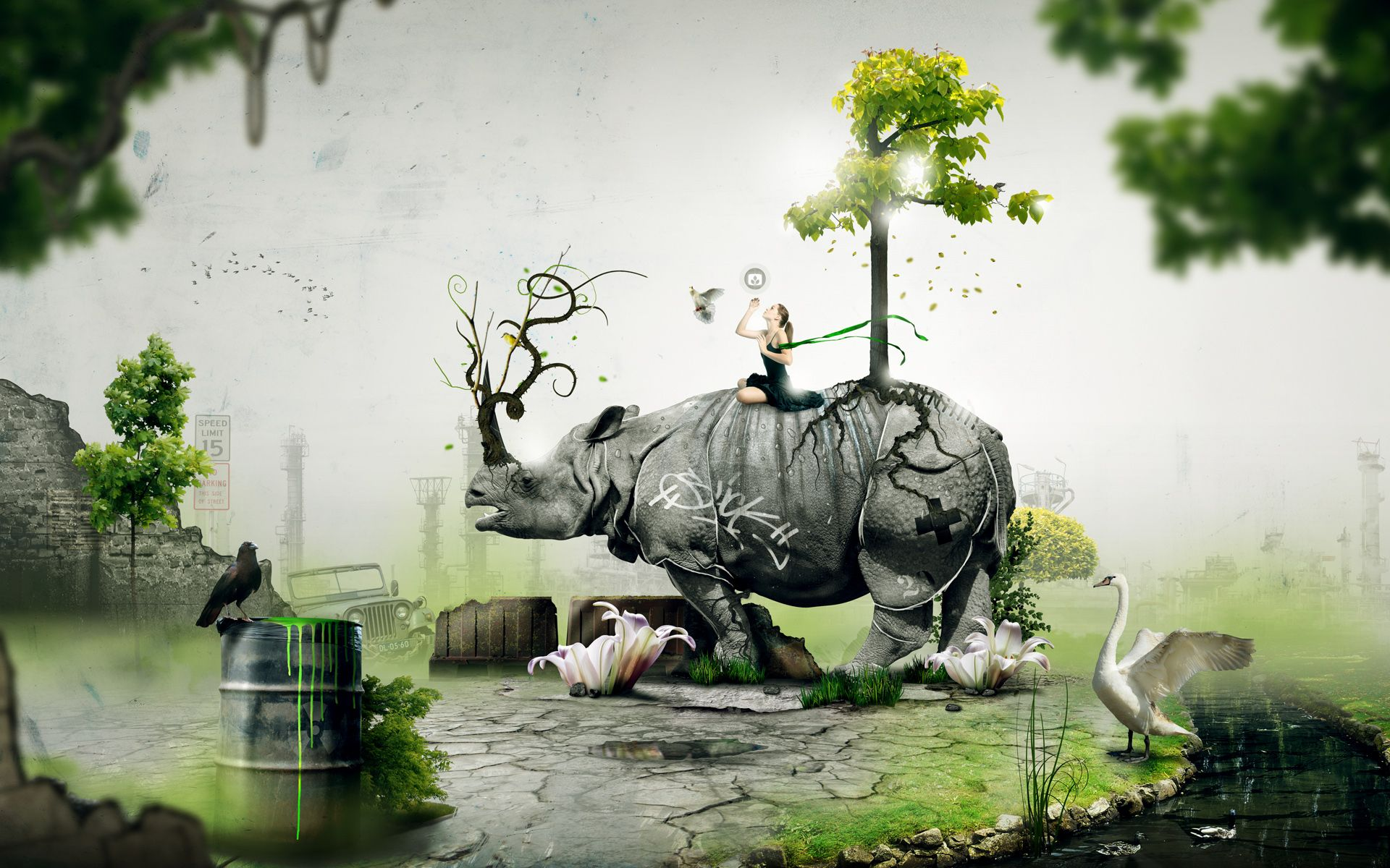 Collection Of Best Animal Wallpapers: Surreal Wallpaper: Collection Of Best Surreal Desktop