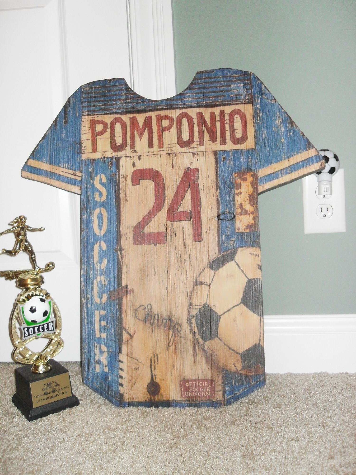 Pin by Vintage Signs USA on Vintage Wood Signs Soccer