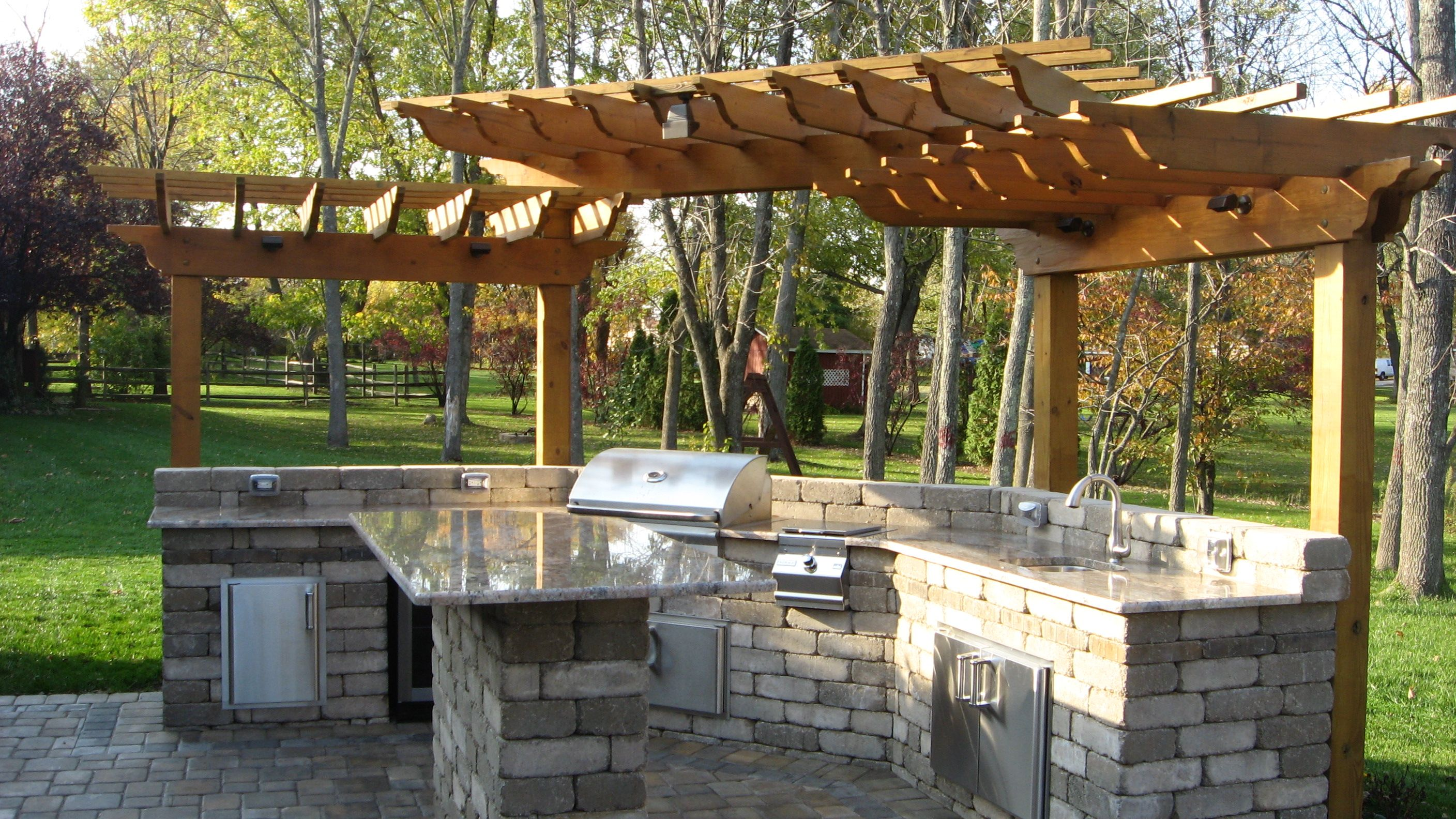 outdoor grill islands | Island Grill covers | Outdoor ... on Backyard Patio Grill Island id=24115