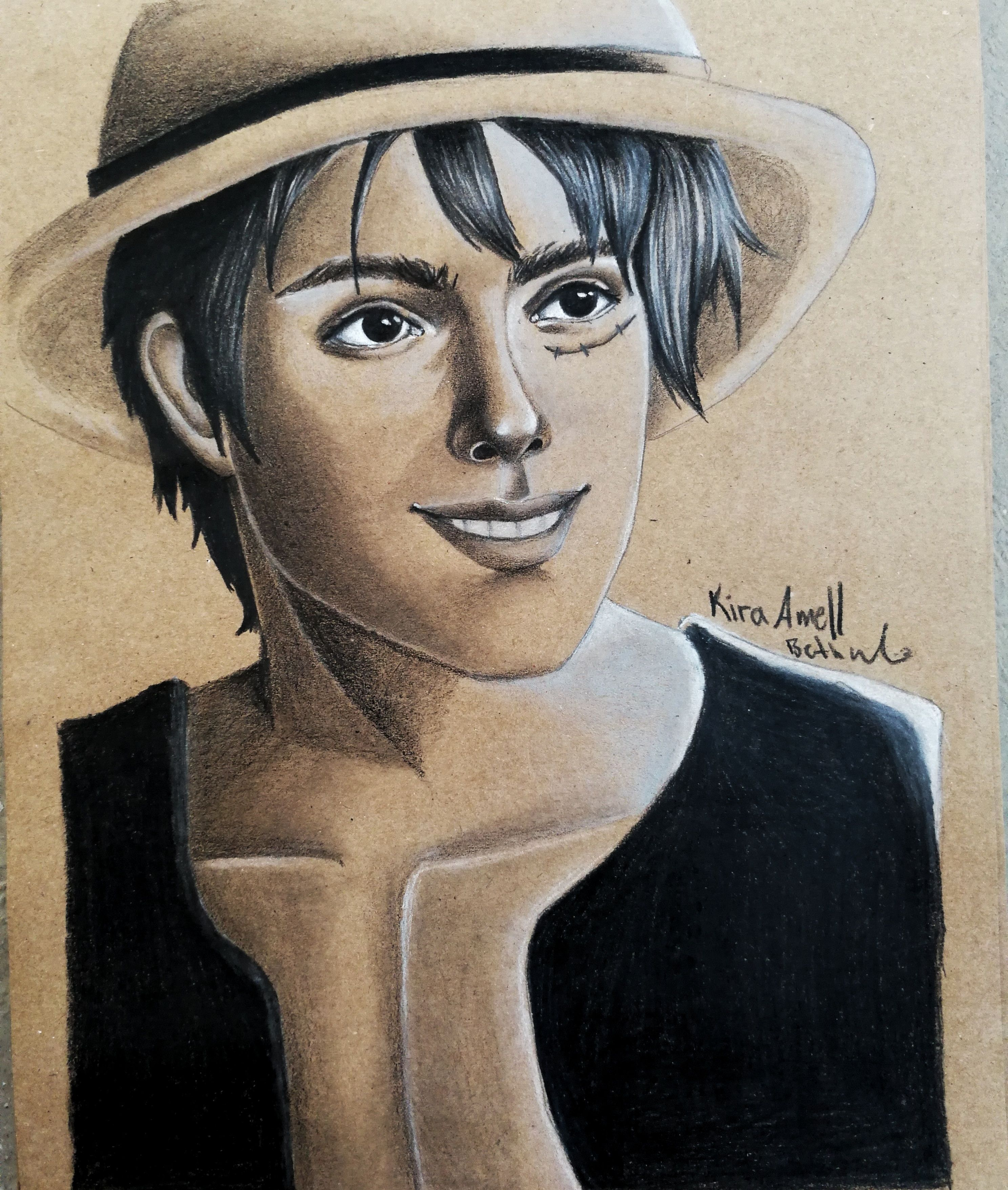 Monkey D Luffy From One Piece Realisticstyle