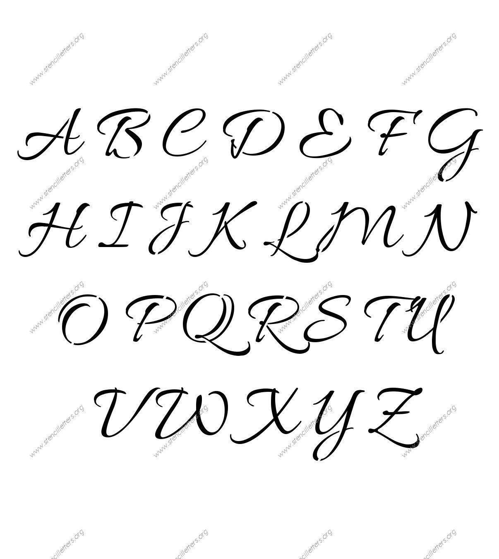 English Stylish Letter Stylish English Letters A Z English