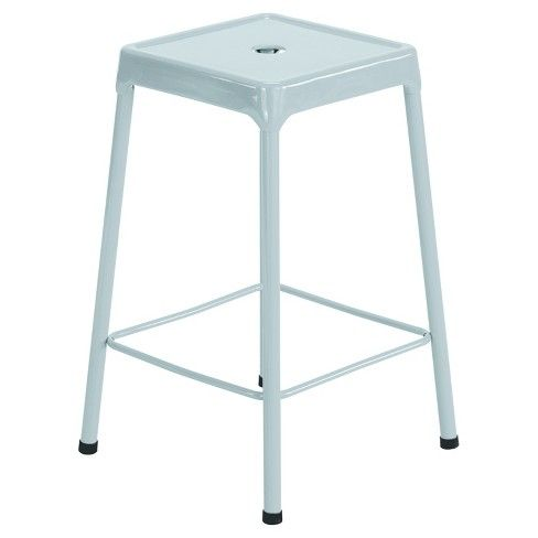 Cool Safco Counter Height Steel Stool Silver Dining Room Ncnpc Chair Design For Home Ncnpcorg