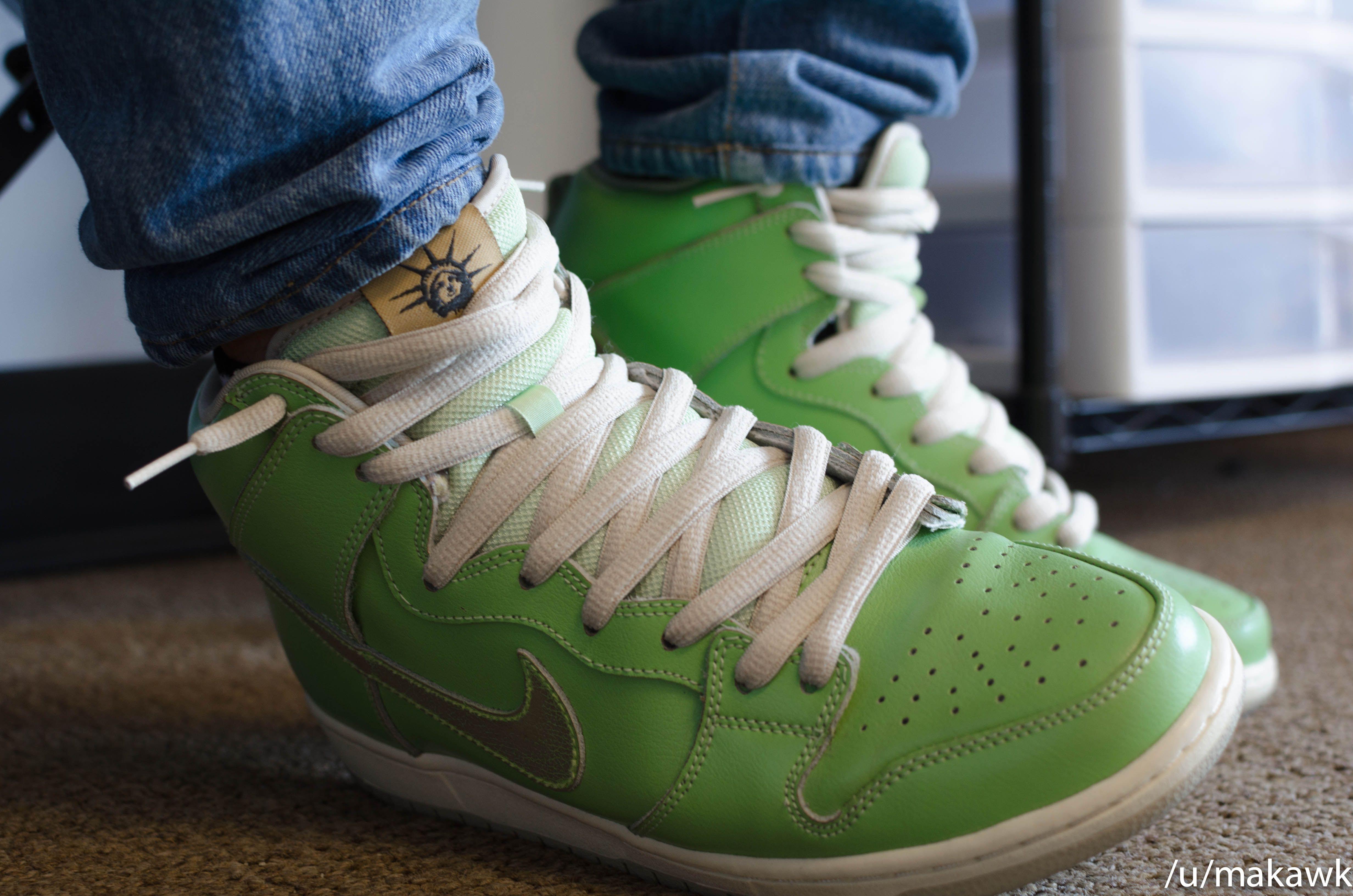 James Dyson Torment Applicable  WDYWT] Nike SB Statue of Liberty Dunks | Nike sb, Nike, Sneakers nike