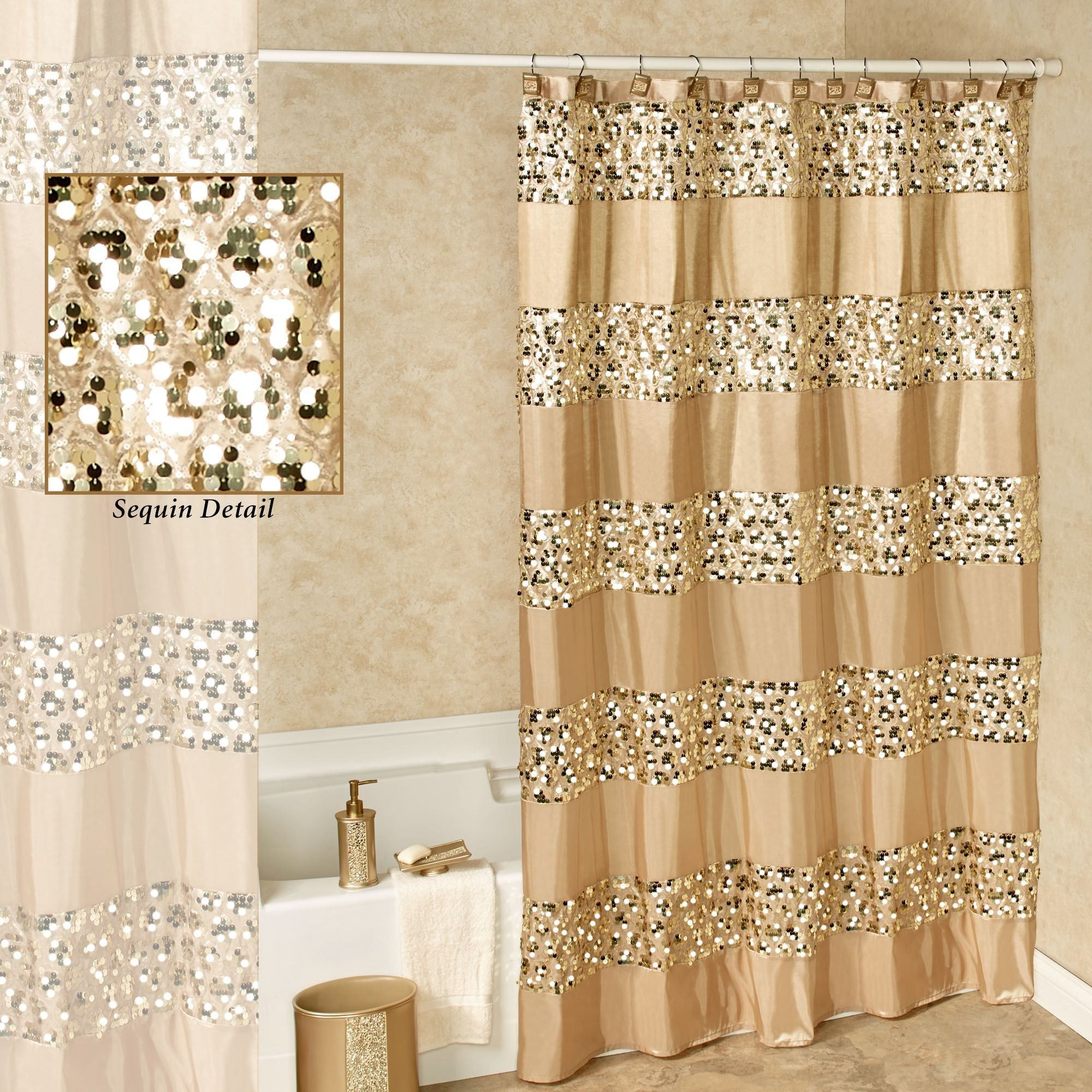 Awesome Gold Shower Curtain Hooks Check More At Homefurnitureone