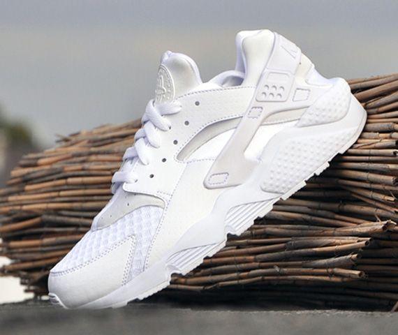 Nike Air Huarache All White Freshnessmag Com Nike Air Huarache White Nike Air Huarache Nike Free Shoes