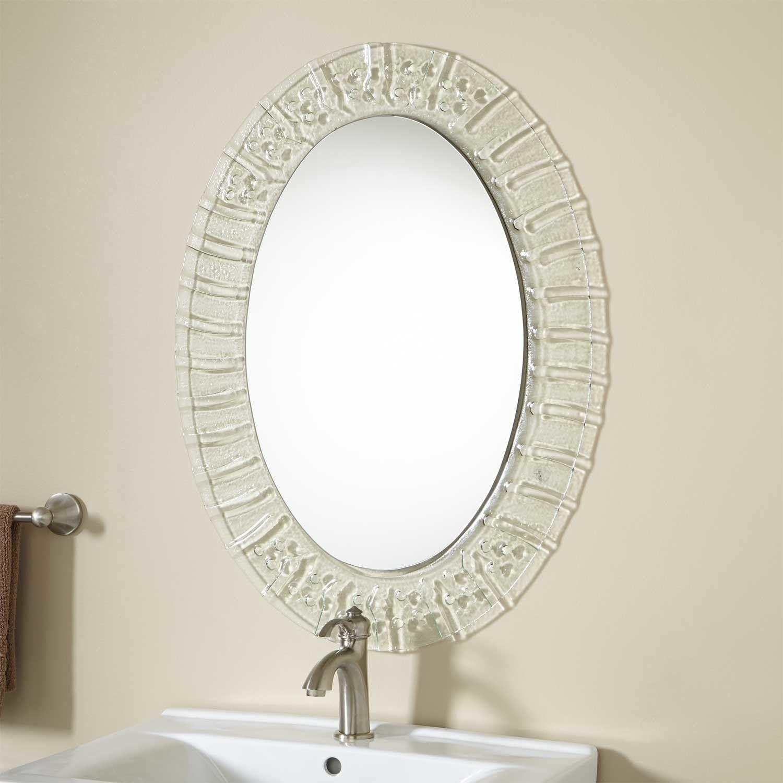 Leyla Vanity Mirror Bathroom Mirror Design Oval Mirror Bathroom Decorative Bathroom Mirrors