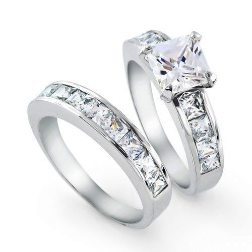 great engagement and wedding ring sets - Engagement Wedding Ring Set
