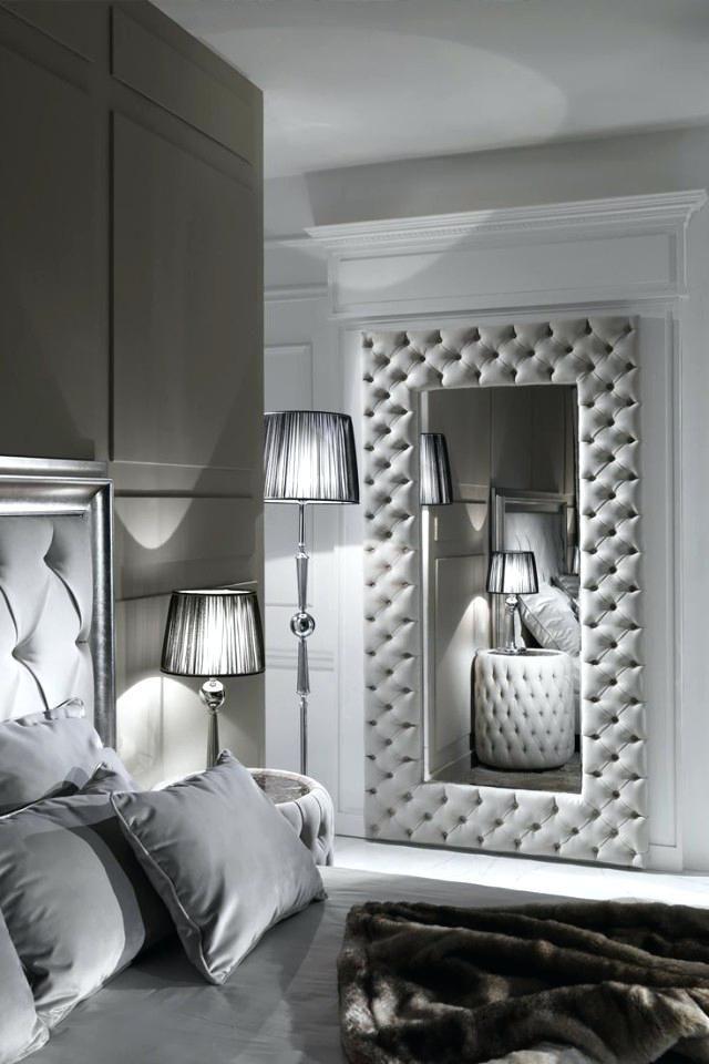 Spiegel im Schlafzimmer | Wohnung wohnzimmer, Spiegel im ...