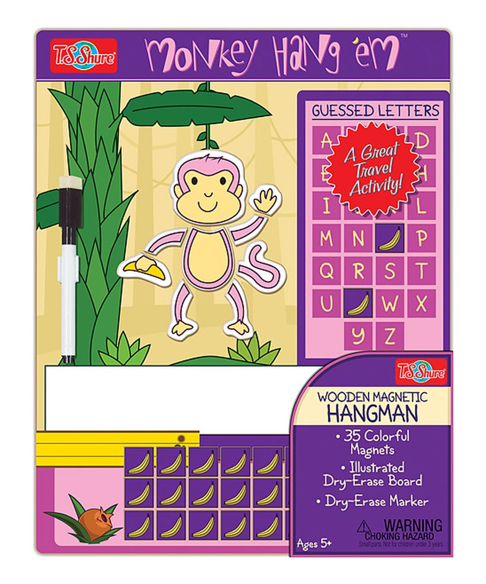 Look what I found on zulily! Monkey Hangman Game