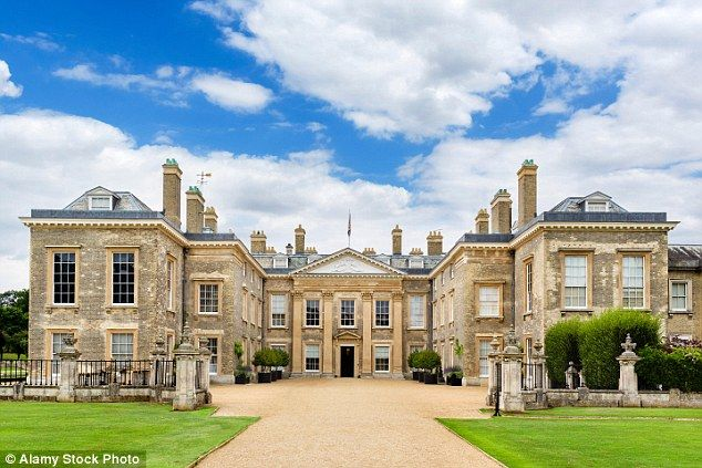 A Bouncy Castle In The Silk Lined Dining Room Of Althorp House Northamptonshire Is Just One Changes Earl Charles Spencer S Third Wife Has Made To