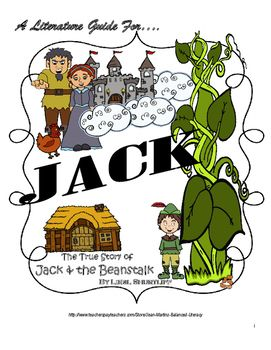 A Literature Guide for JACK by Liesl Shurtliff; created by ...