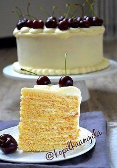 Торт молочная девочка пошаговый кулинарный рецепт