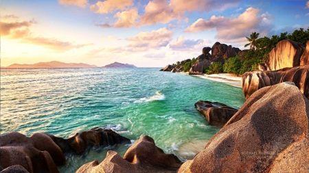 Seychelles Beach Beaches Wallpaper Id 1545542 Desktop Nexus Nature Summer Beach Wallpaper Beach Wallpaper Island Wallpaper