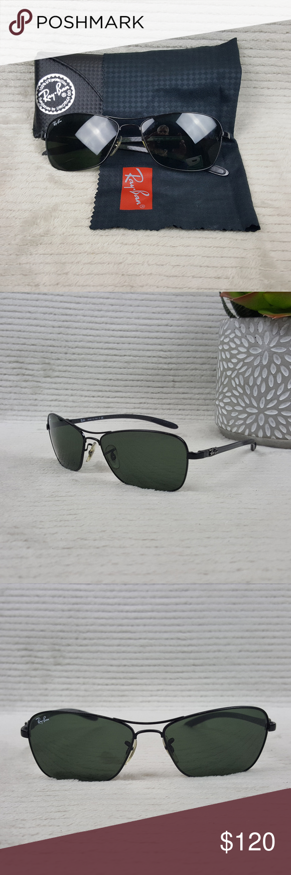 8532ccd4df ... shopping ray ban rb8302 carbon fiber frame w case ray ban tech  sunglasses with 5fc92 b9738