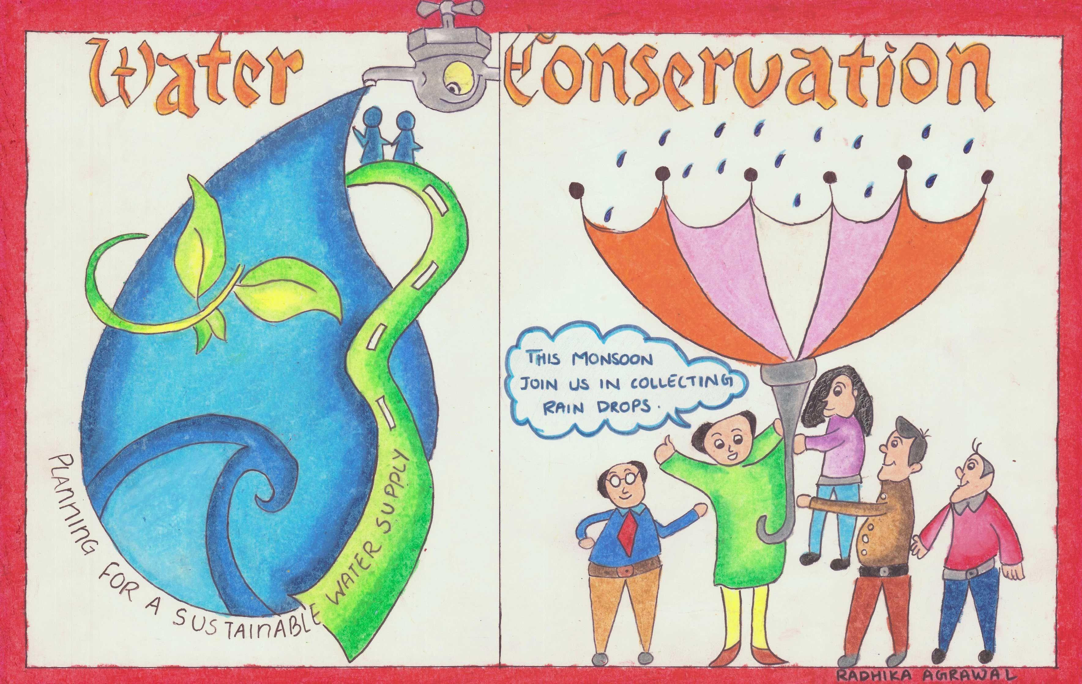Poster by radhika j agrawal mount carmel high school ahmedabad