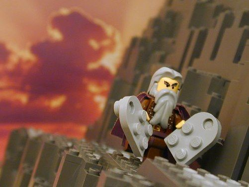 The Ten Commandments | Lego bible, Kids church, Family worship