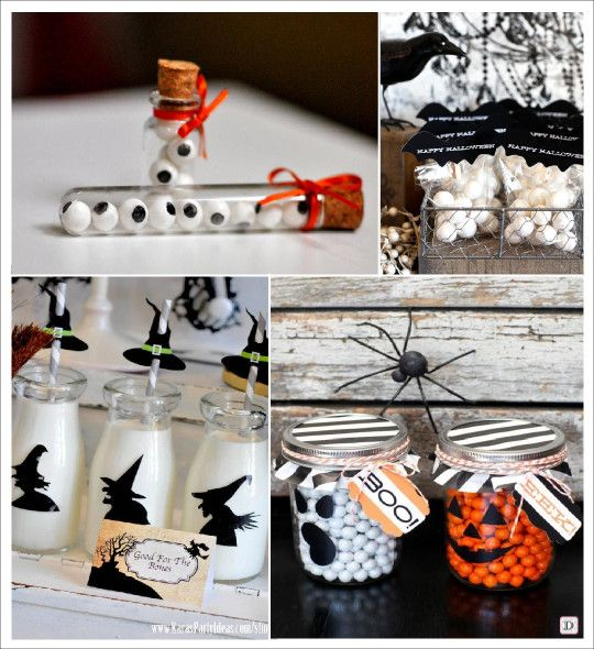 decoration halloween fiole bonbons oeil bocal fant me bouteille de lait sorci re halloween. Black Bedroom Furniture Sets. Home Design Ideas