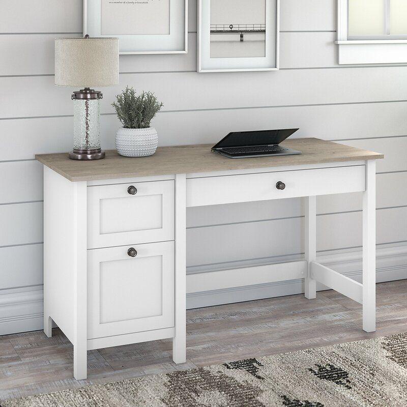 Jace Desk In 2020 Desk With Drawers Bush Furniture Computer
