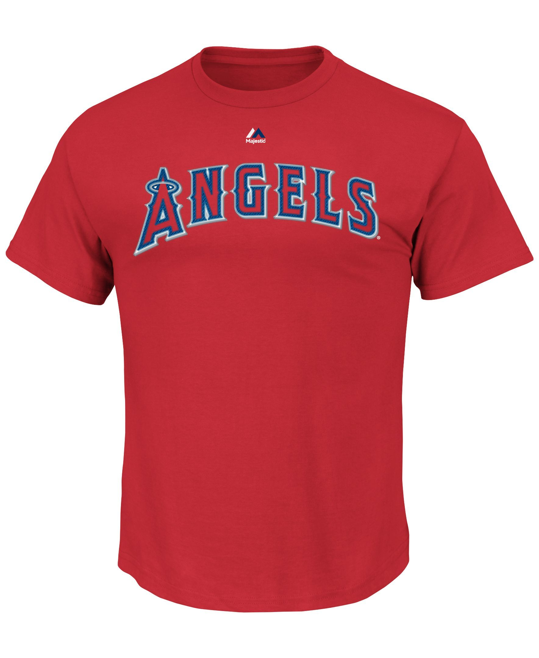 Majestic Men's Short-Sleeve Los Angeles Angels of Anaheim T-Shirt