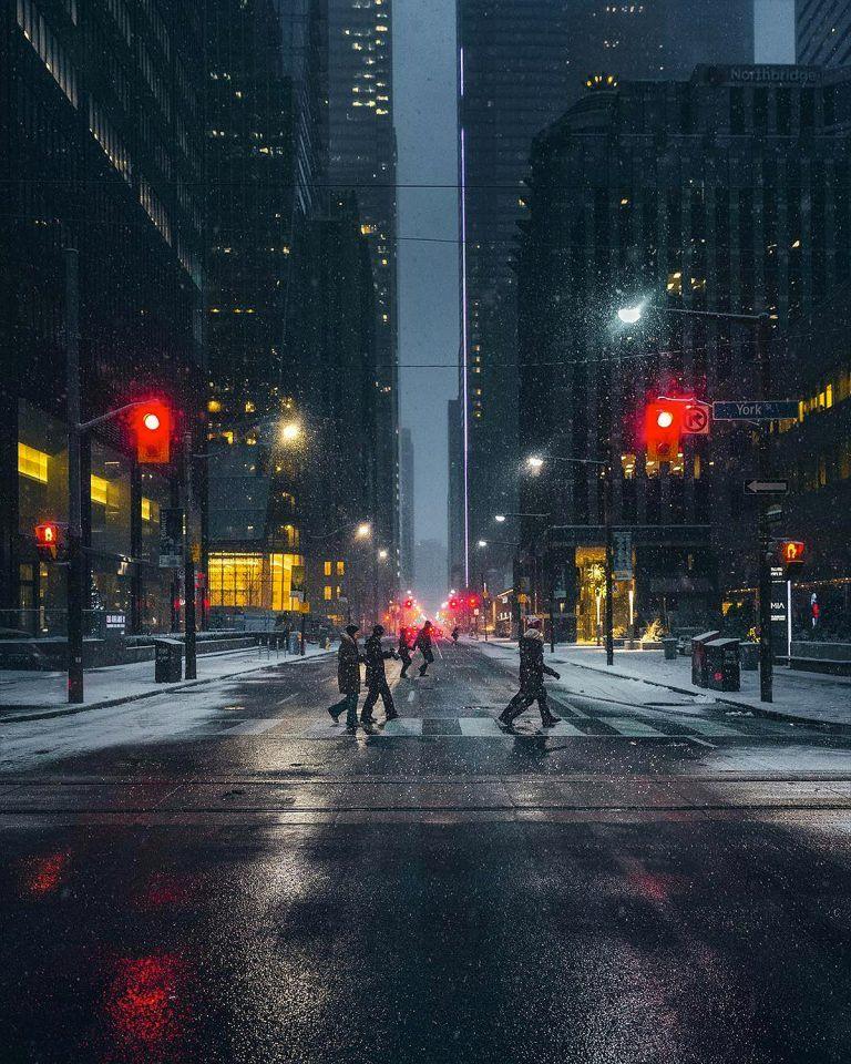 Night City Landscape Photography Settings: Toronto At Night: Photos By Bora