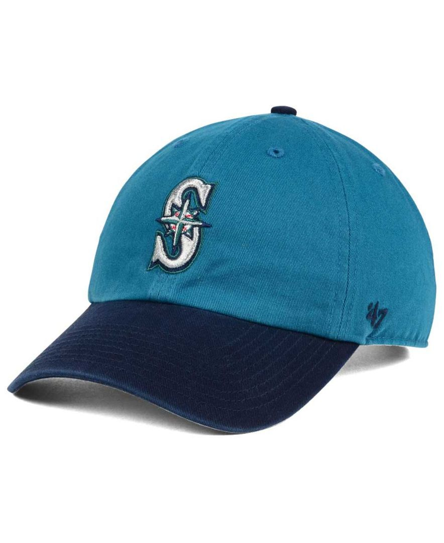 online store 6c789 a8192  47 Brand Seattle Mariners Cooperstown Clean Up Cap.