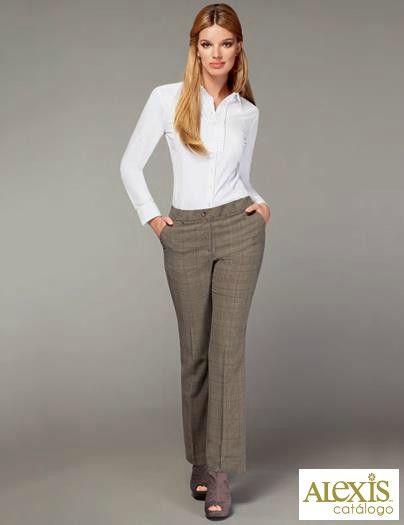 Pantalones Perfectos Para La Oficina Pantalones De Vestir Mujer Pantalones Para La Oficina Ropa