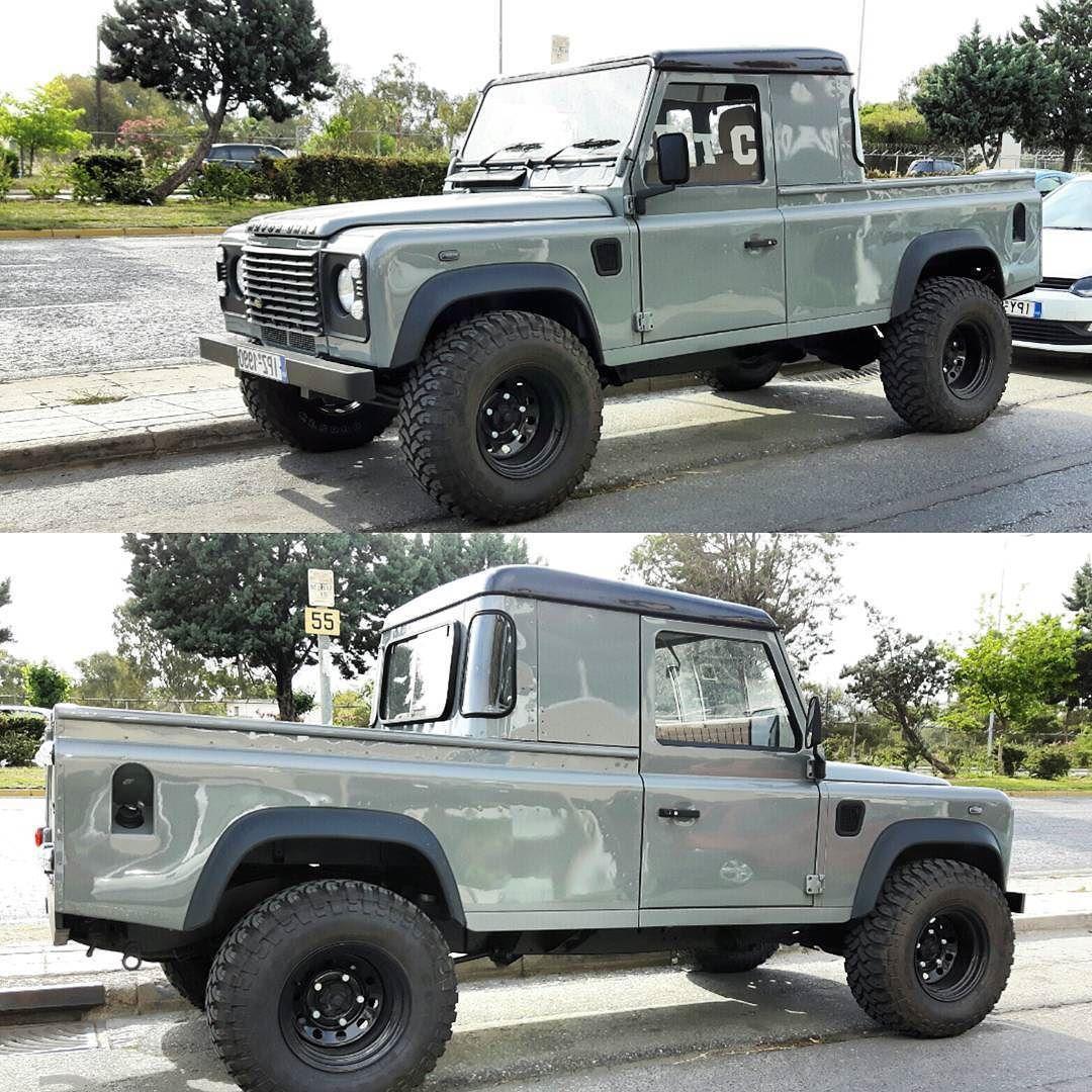 Defender 110 Td5 kingcab pickup Terep