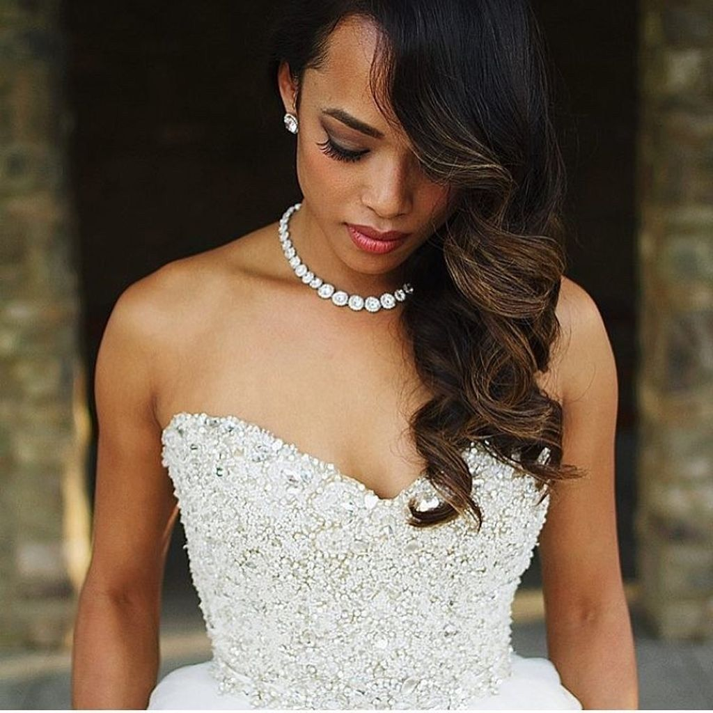 75 stunning african american wedding hairstyle ideas for