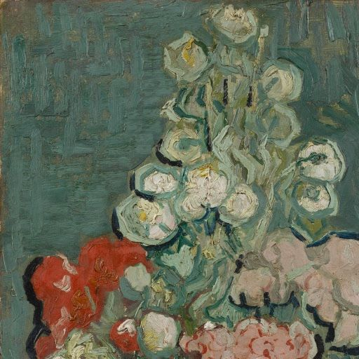 Vase Of Flowers Vincent Van Gogh 1890 Vincent Van Gogh