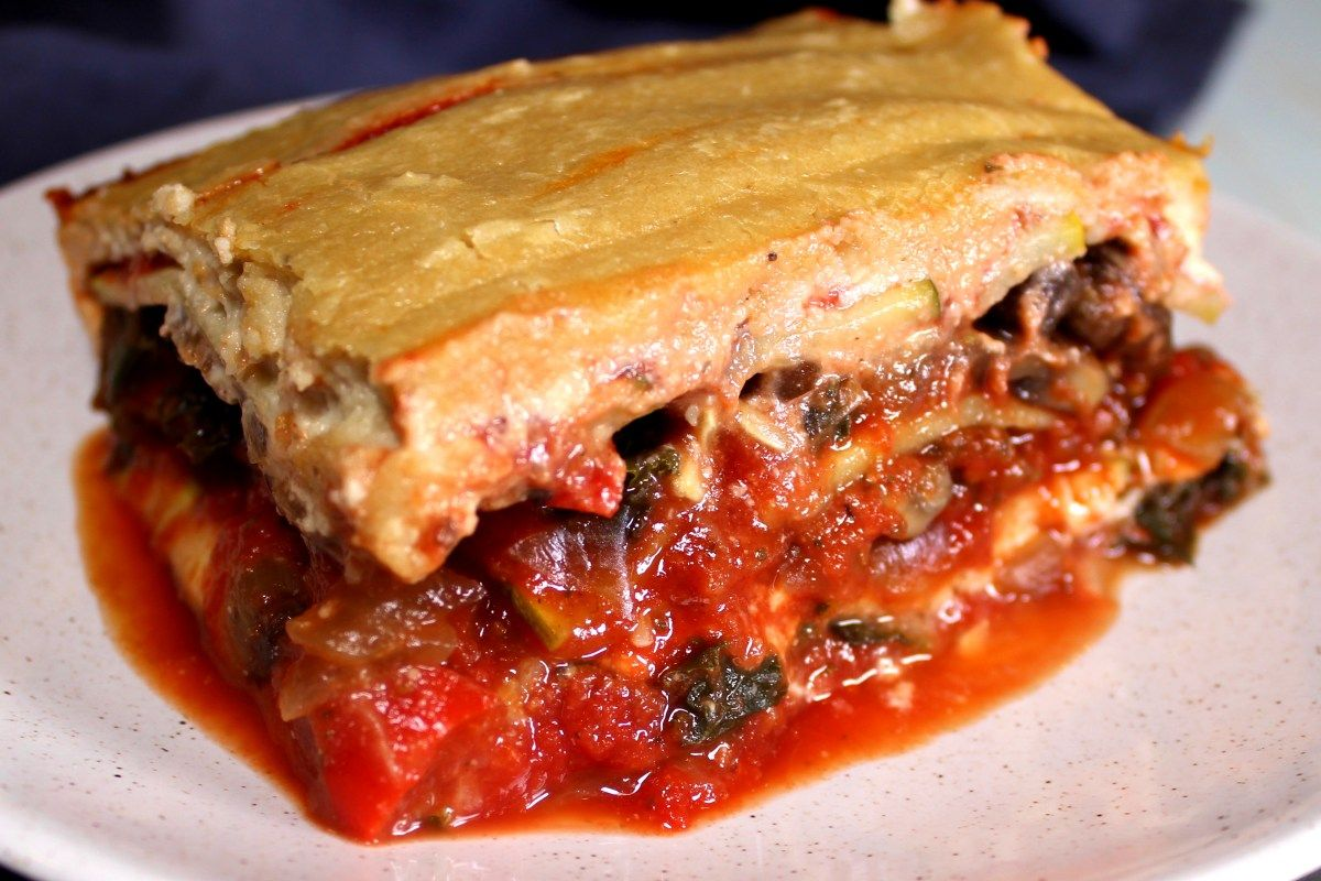 Plant Based Vegan Zucchini Lasagna The Whole Food Plant Based