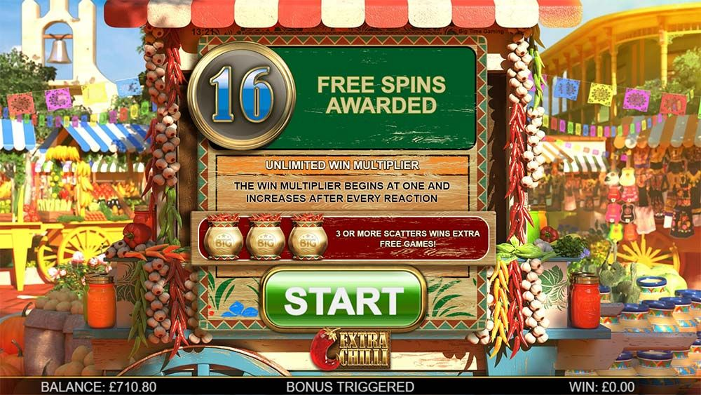Review And Where To Play The Extra Chilli Slot From Big Time