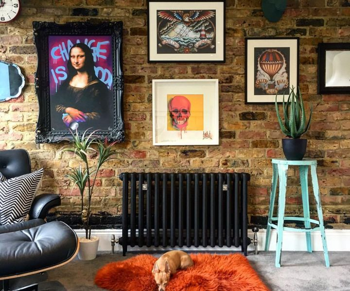 """Photo of Nicola Broughton-""""The Girl with the Green Sofa""""Blog HomeBrooklands Eclectic and Quirky Home Build"""