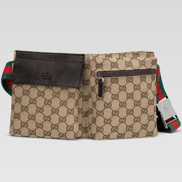 840ca7f5b2e Cheap Gucci Belt Bag 28566R in Beige Ebony Hot Sale  165.29 ...