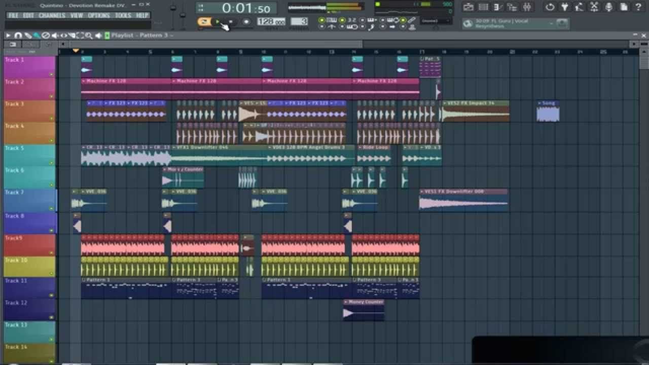 FL Studio Remake | Quintino - Devotion + FLP + Sylenth Presets | FL