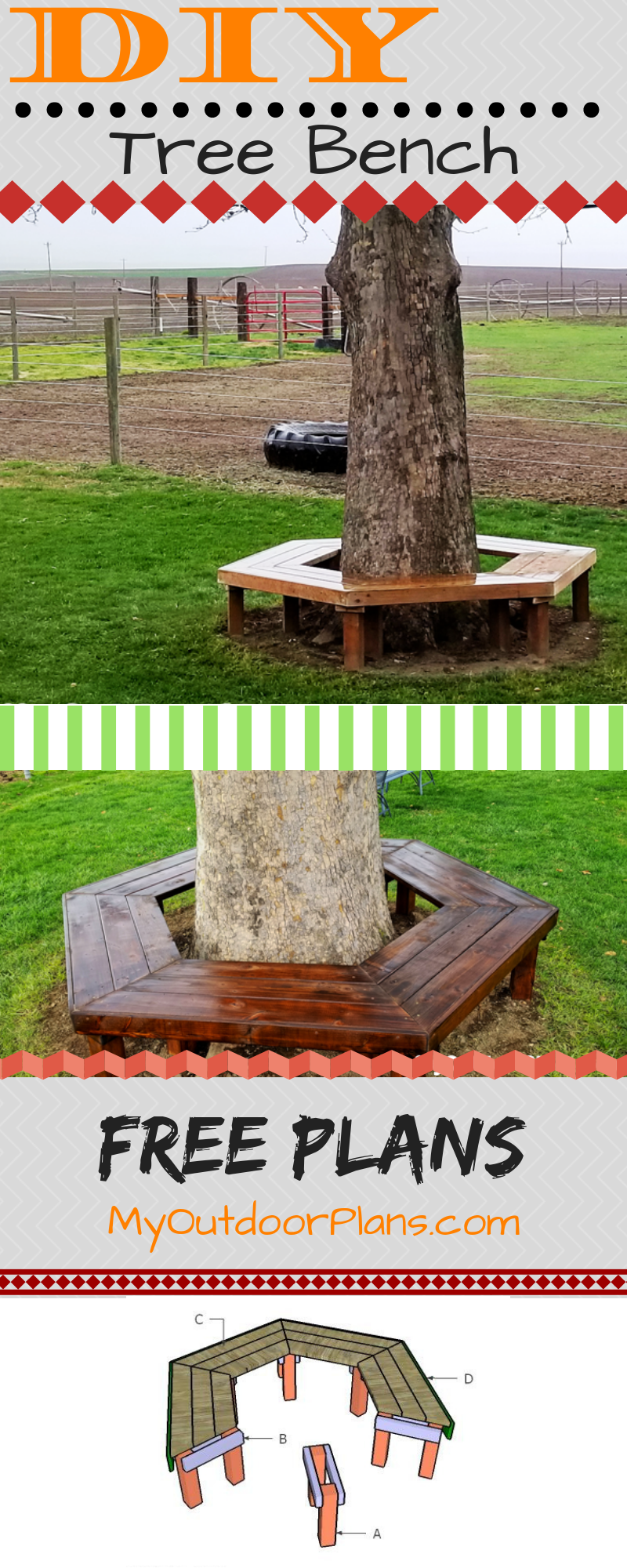 How To Build A Tree Bench Tree Bench Woodworking Plans Free Bench Around Trees