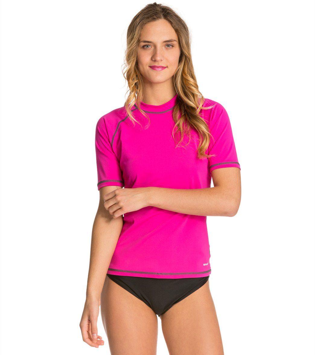 76d527690bc Sporti Women's S/S Swim Shirt at SwimOutlet.com | Wish List